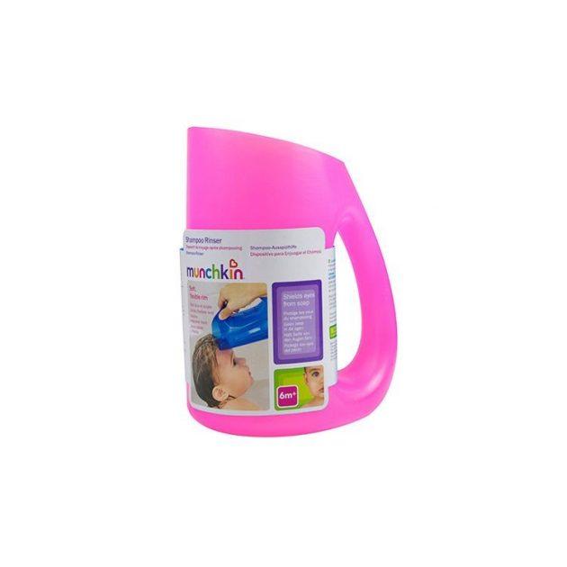 Munchkin szilikon hajmosó - kék vagy pink