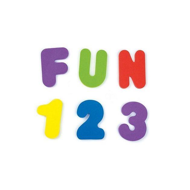 Munchkin Tanuló betűk és számok fürdéshez