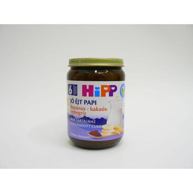 Hipp Jó éjt papi Banános-kakaós tejbegríz 6 hó 190 g