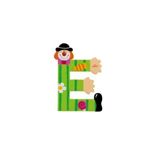 Sevi fa betűk - E - zöld Bohóc