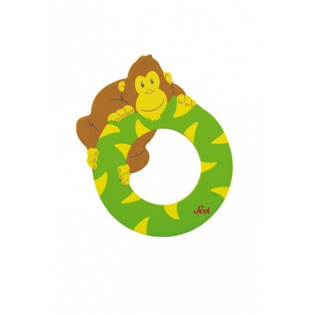 Sevi fa betűk - O - Orángután zöld