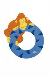 Sevi fa betűk - O - Orángután kék
