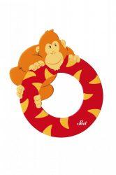 Sevi fa betűk - O - Orángután piros