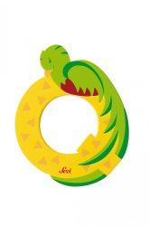 Sevi fa betűk - Q - Quetzal sárga