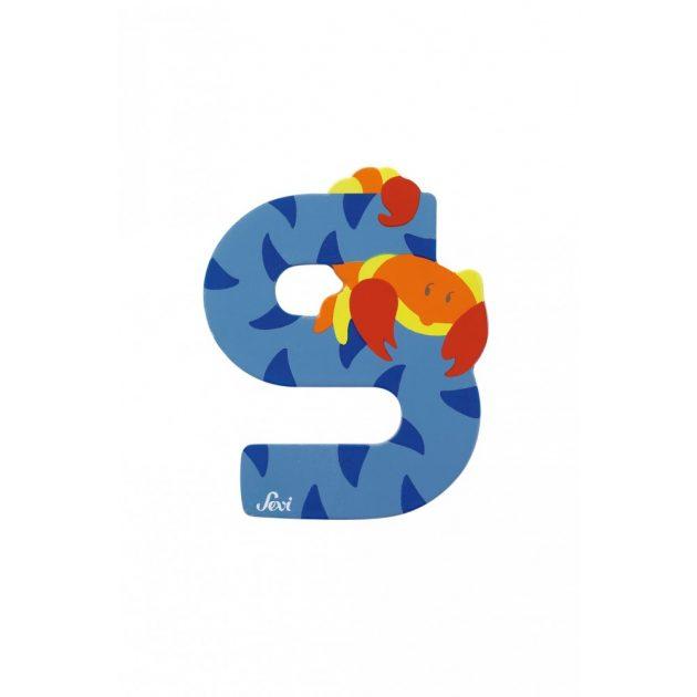 Sevi fa betűk - S - Skorpió kék