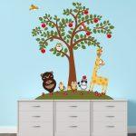 Falimatrica állatbarátok almafával