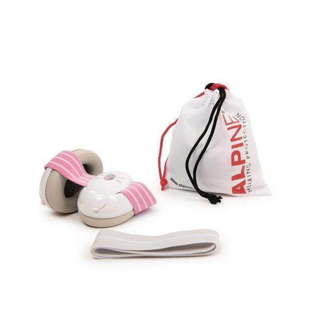 Alpine Muffy Baby fültok csecsemőknek rózsaszín