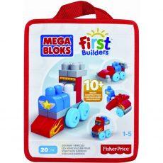 Mega Bloks mini építőzacskók Jarműves