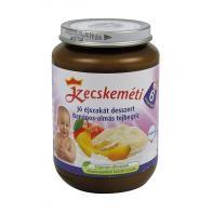 Kecskeméti Jó éjszakát desszert Banános-almás tejbegríz 6 hó 190 g