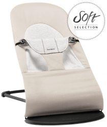BabyBjörn Balance pihenőszék - Soft Jersey Bézs/szürke