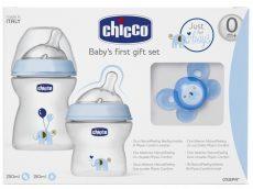 Chicco NaturalFeeling ajándék szett - Kék