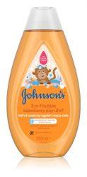 Johnson's fürdető barackos buborékos 500ml