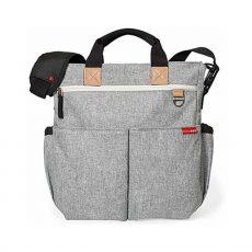 Skip Hop Duo Signature pelenkázó táska - Grey Melange