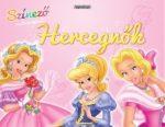 Napraforgó Színező matricákkal - Hercegnők