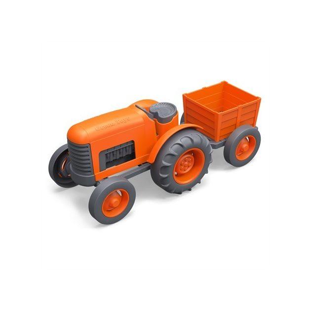 Green Toys - Traktor - Narancs