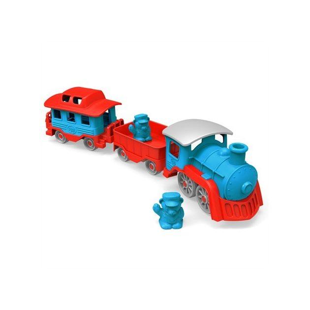 Green Toys - Vonat szett