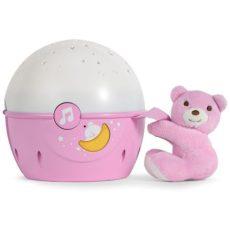 Chicco Next2 Stars zenélő projektor rózsaszín