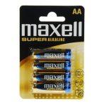 Maxell Szuper alkáli ceruza elem LR6 4db