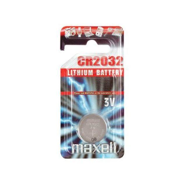Maxell Gombelem litium CR2032 1db