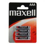 Maxell Cink vékony ceruza elem R03 AAA 4db