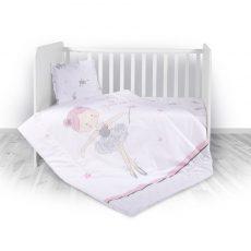 Lorelli ágyneműgarnitúra Trend kombi ágyhoz - Ballett Pink