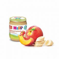 Hipp Gyümölcsök Őszibarack banánnal 4 hó 125 g