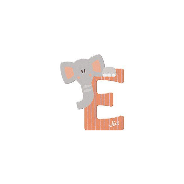 Sevi fa betűk - E - Elefánt narancs