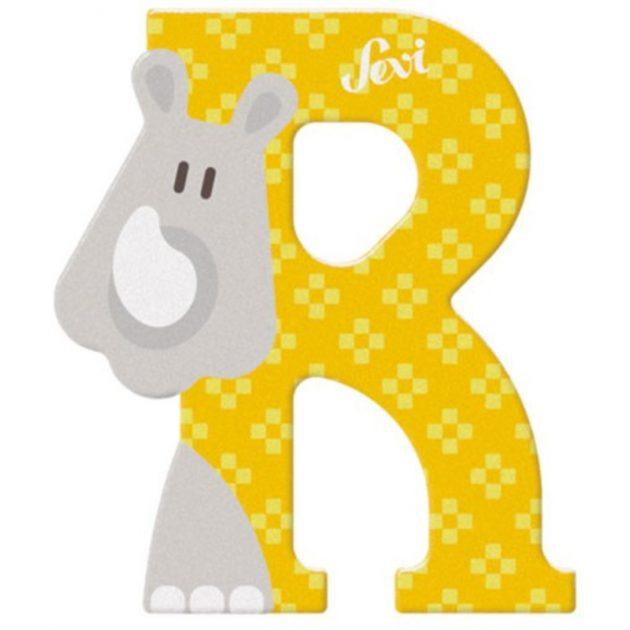 Sevi fa betűk - R - Orrszarvú sárga