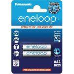 Panasonic Eneloop AAA 1,2V vékony ceruza akumulátor 2db