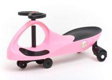 Bobocar - pink műanyag kerékkel