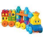 Mega Bloks ABC tanuló vonat