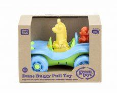 Green Toys - Húzható Kisautó állatokkal - kék