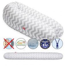 Scamp szoptatós párna vászon Zigzag grey standard