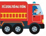 Napraforgó Guruló kerekek - Tűzoltóautók