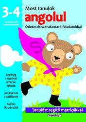 Napraforgó Most tanulok... angolul (3-4 éveseknek)