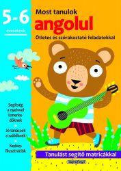 Napraforgó Most tanulok... angolul (5-6 éveseknek)