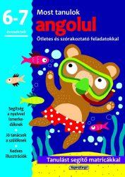 Napraforgó Most tanulok... angolul (6-7 éveseknek)