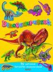 Napraforgó Mozgalmas matricásfüzet - dinoszauruszok