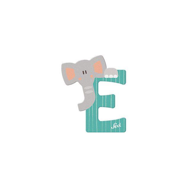 Sevi fa betűk - E - Elefánt menta