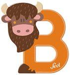 Sevi fa betűk - B - Bika narancs