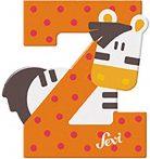Sevi fa betűk - Z - Zebra narancs