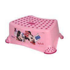 Lorelli Disney mintás fellépő - Minnie egér / rózsaszín