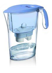LAICA Clear Line kék vízszűrőkancsó (1 Bi-Flux univerzális szűrőbetéttel)
