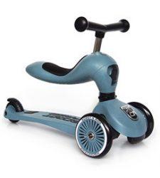 Scoot and Ride Highwaykick 2in1 kismotor/roller Steel