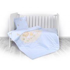 Lorelli ágyneműgarnitúra Trend kombi ágyhoz - Bear Party Blue
