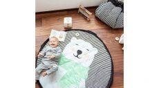 Play&Go játék tátoló zsák/játszószőnyeg - jegesmedve