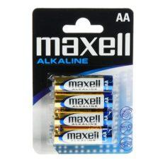 Maxell Alkáli ceruza elem LR6 4db bliszter