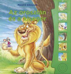 Napraforgó Mesélő könyvek - Az oroszlán és az egér