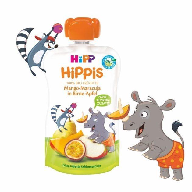 Hipp HiPPiS Mangó-maracuja almás körtében 1 év 100 g