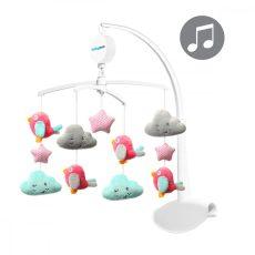 BabyOno zenélő forgó utazóágyra és kiságyra - felhők és madarak